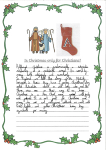 Christmas Year 6